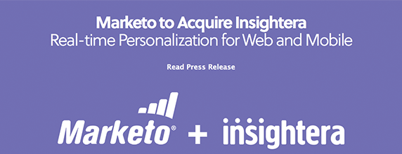 Marketo aquires Insightera